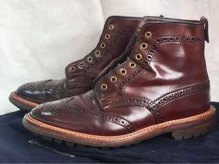 Tricker's Shell Cordovan Country Boots