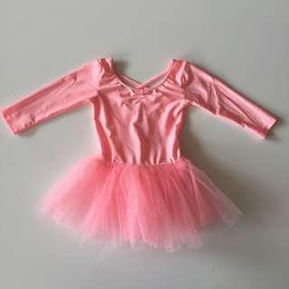 H&M Dance Leotard With Tulle Skirt
