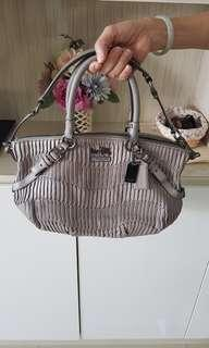 Coach bag - leather