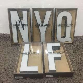 TYPO Light Letter (Use batteries only)