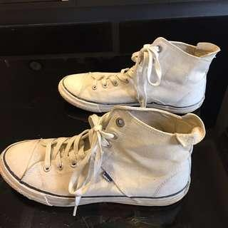 🚚 Superdry極度乾燥高筒帆布鞋。7「#十月半價特賣」