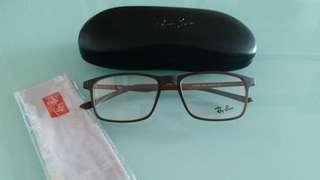 Original rayban prescription eyewear brown frame