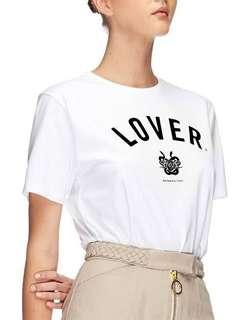 Lover The Label College Tee BNWT Size M