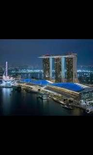 4 days 3 nights Marina Bay Sands Hotel 23, 24 and 25 Oct 2018