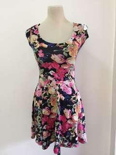H&M Floral Short Dress
