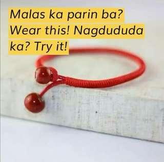 Trending red lucky charm bracelet