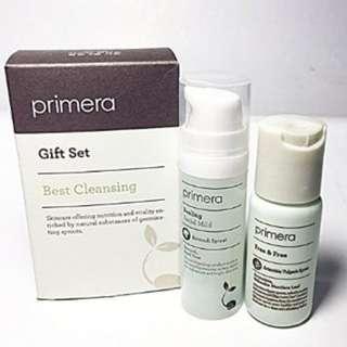 ($210 / 8套) Primera Best Cleansing Set 套裝 (Free & Free + Peeling Facial Mild)