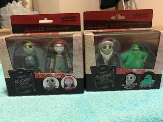怪誕城之夜 Jack Sally 公仔 the nightmare before Christmas figure Disney