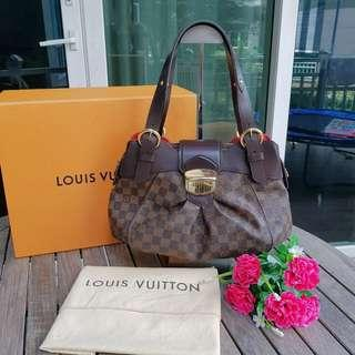 12cf42aaad Authentic Louis Vuitton bag damier ebene