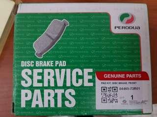 Perodua Myvi brake pad