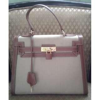 Hermes Kelly Inspired Japan Horse Leather handbag
