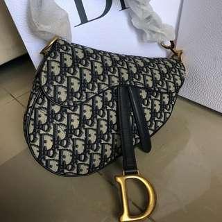 Brand New Dior Saddle Medium Bag (HOT ITEM)