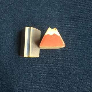 🚚 🗾富士山筷架(標示為一個的價錢/共兩色可選/兩個有優惠)🗾