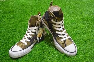 Sepatu Converse All Star Army Green Hi
