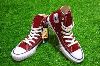 Sepatu Converse All Star Chili Red Hi