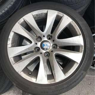 """Used BMW rim 17"""" with tyre"""
