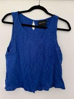 Cobolt Blue top