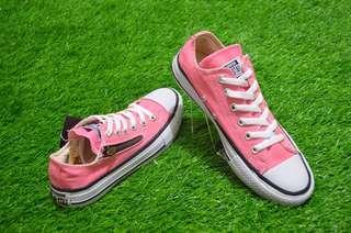 Sepatu Converse All Star Pink Zip Ox