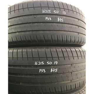 Used tyres 215/50x17 (Michelin PS3)