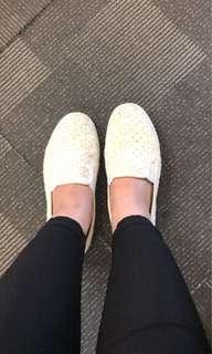 Rubi White casual shoes