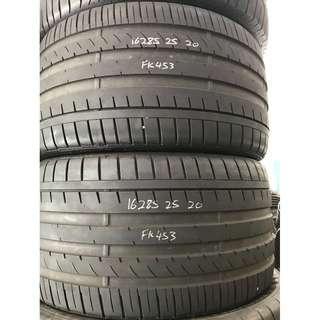 Used tyre 285/25x20 (Falken FK453 Made in Japan)