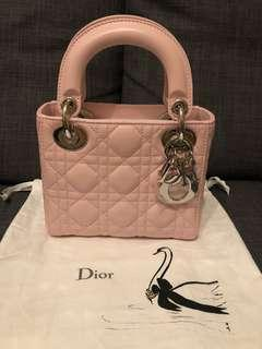 Dior baby pink mini lady Dior limited edition