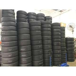 Clearing Used tyres