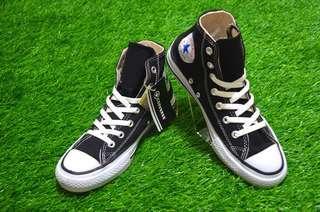 Sepatu Converse All Star Black Hi