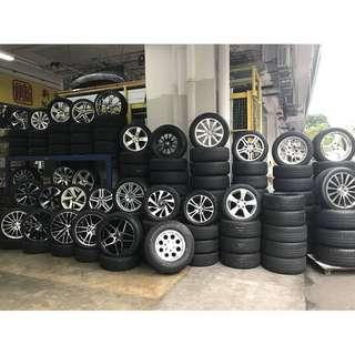 Used Rim and Used tyres for sale