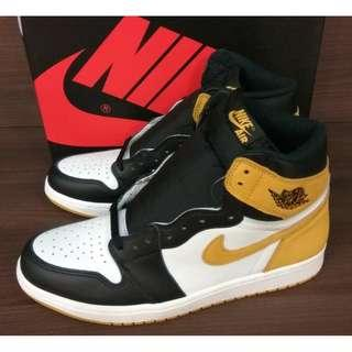 Nike Air Jordan 1 Retro High Ochre Yellow