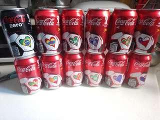可口可樂世盃紀念版每罐$6全套售12罐