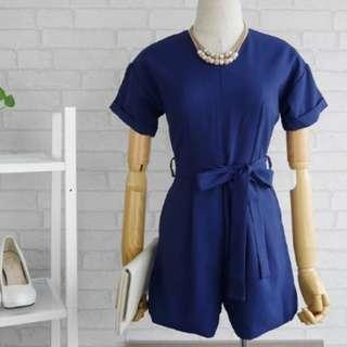 🆕 Romper with removable sash