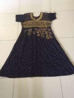 Free mail! Indian dress XL