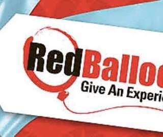 Redballoon voucher - valued at $460