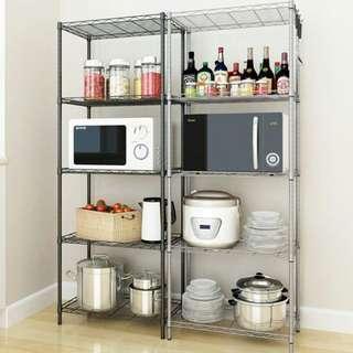 Adjustable Tiers Storage Rack Shelf Organiser