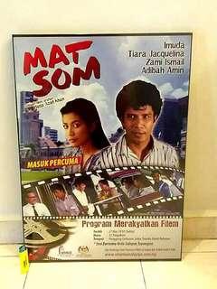 Framed movie poster Mat Som
