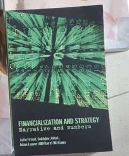 Financialisation and Strategy (Narrative and Numbers) Textbook