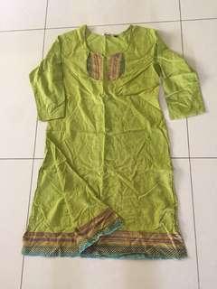 Free mail! Indian lady dress