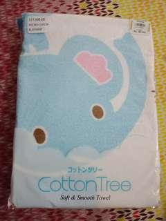 Handuk bayi cotton tree