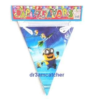 2 x Despicable Me (Minions) buntings