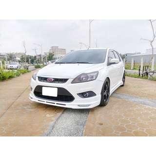 🏎二手車🚘中古車💰全額貸🚙12年 Focus 5D  白色