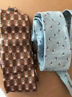 Luxury ties ( Zegna , Dunhill)