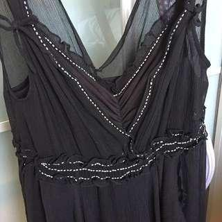 🈹mi-tu Black Dress 連身裙