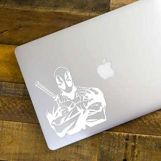 Deadpool Decal - 13.5cm(W) X 15cm(Ht)