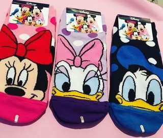 Disney Minnie, Daisy and Donald Socks 35-42 EUR