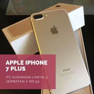 Apple iPhone 7 Plus 32GB Smartphone Gold Bisa Kredit