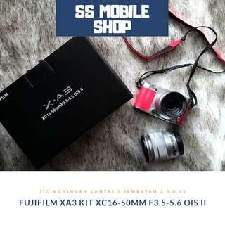 Fujifilm XA3 Kit XC16-50mm f3.5-5.6 OIS II (Pink)