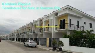 House and lot for sale along quirino highway. San bartolome QC
