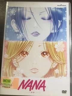 Nana anime Japanese dvd
