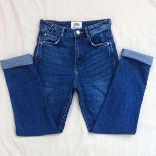 Zara Fitted Mom Jeans